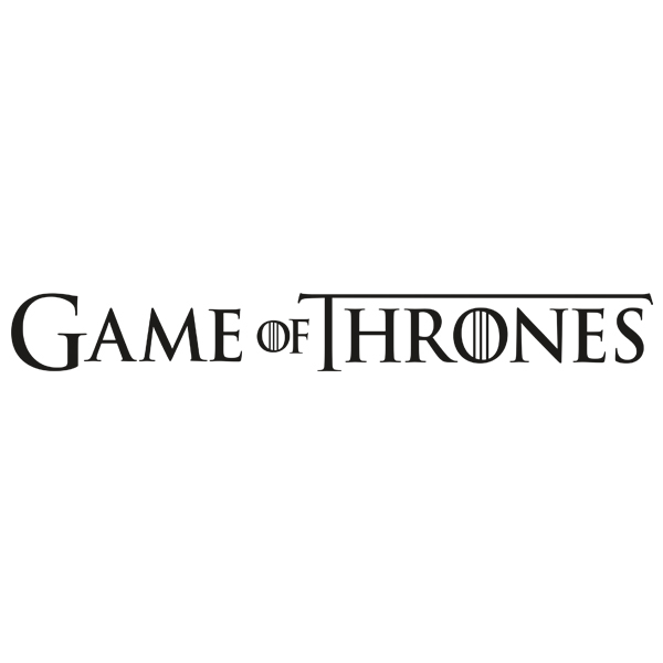 Wall Sticker Logo Game Of Thrones Muraldecal Com