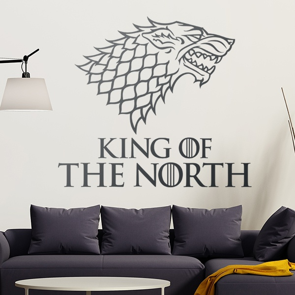 Wall Stickers: King of the North