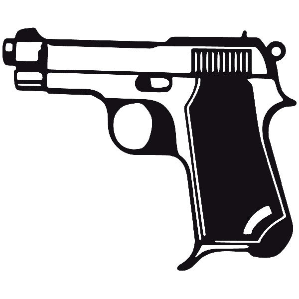 Car and Motorbike Stickers: Weapon 3
