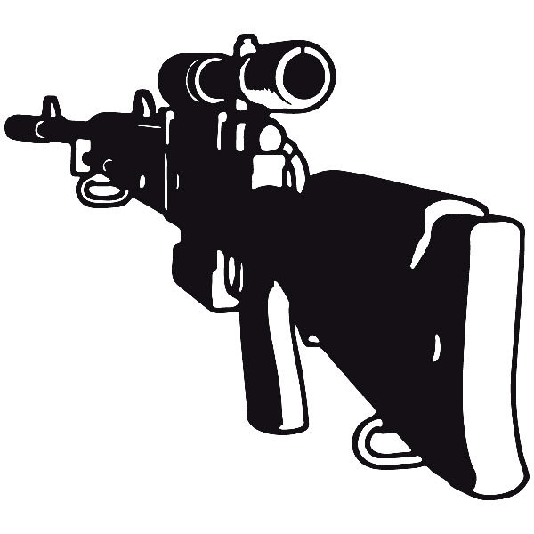 Car and Motorbike Stickers: Weapon 7