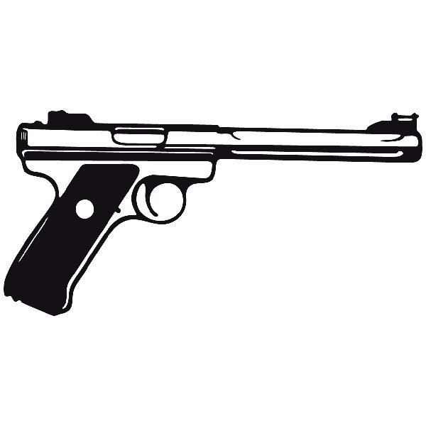 Car and Motorbike Stickers: Weapon 15