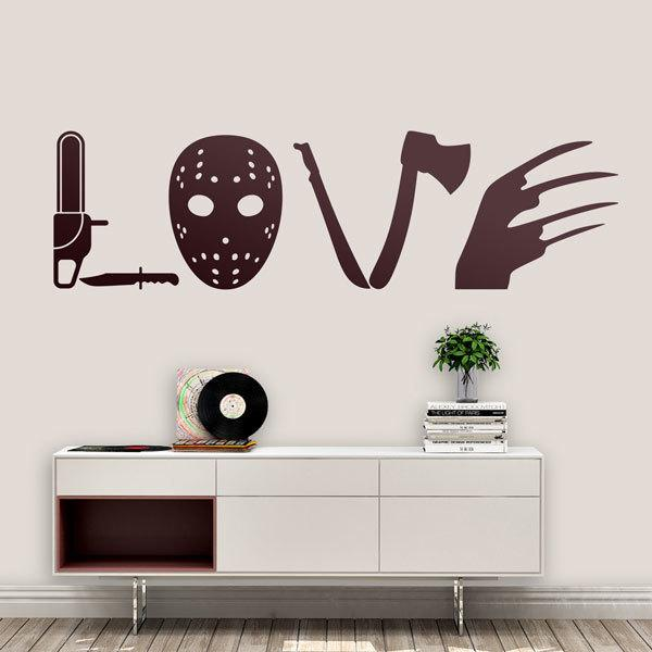 Wall Stickers: Classic horror films (Love)