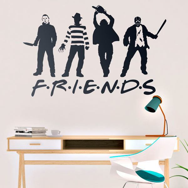 Wall Stickers: Terror Friends