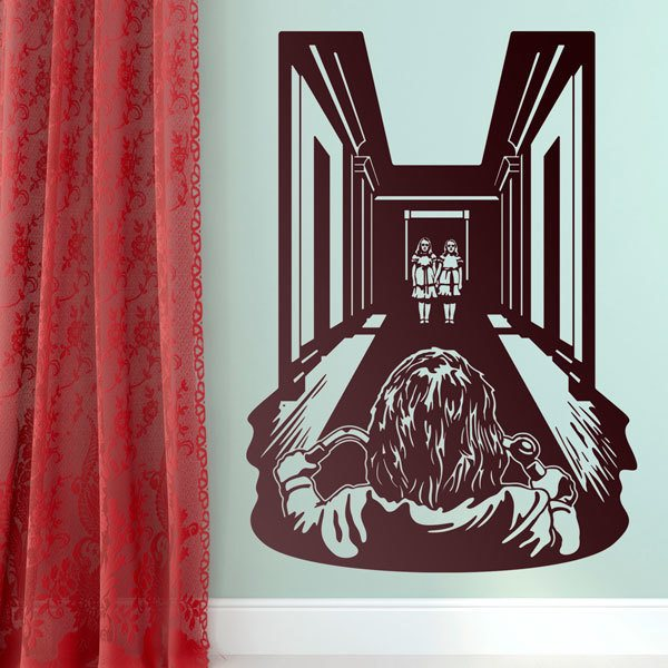 Wall Stickers: The twins of The Shining