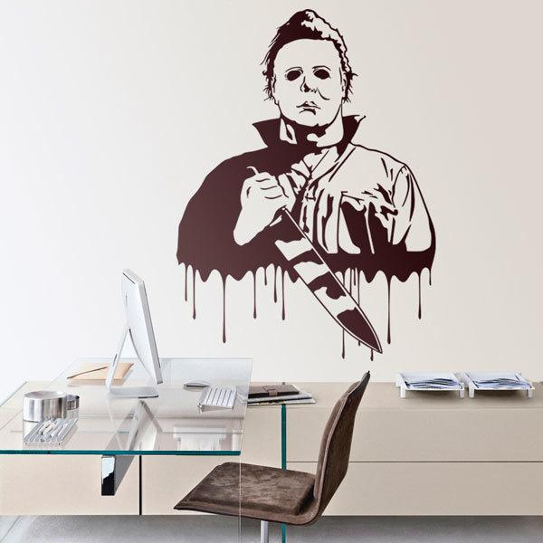 Wall Stickers: Michael Myers (Halloween)
