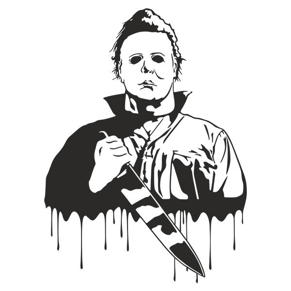 Wall Sticker Michael Myers Halloween Muraldecal Com