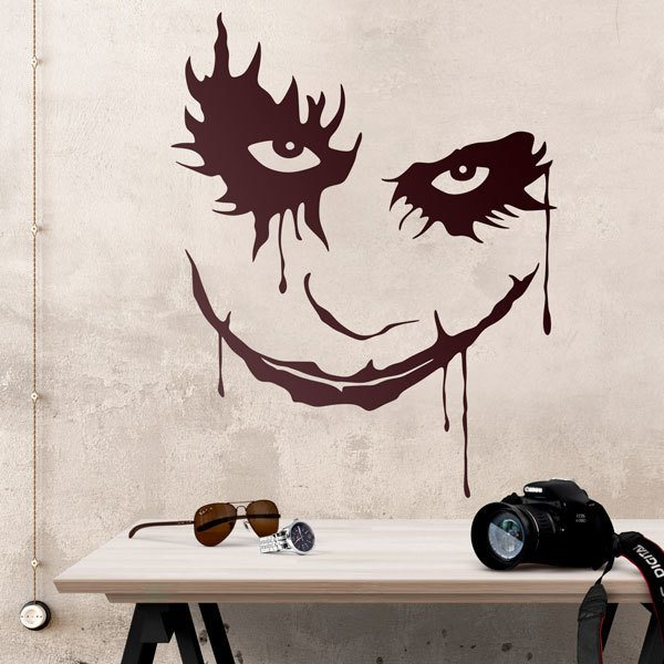 Wall Stickers: Face of the Joker (Batman)