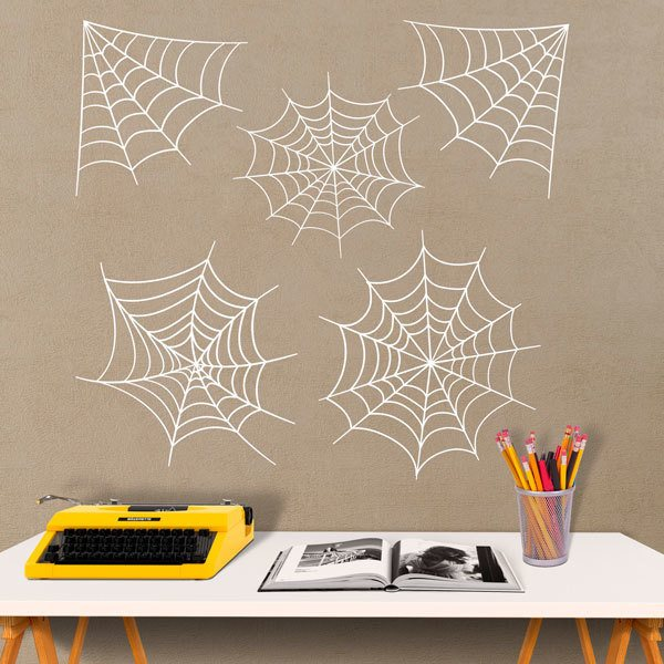 Wall Stickers: Spider web kit