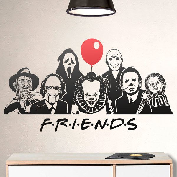 Wall Stickers: Killer friends
