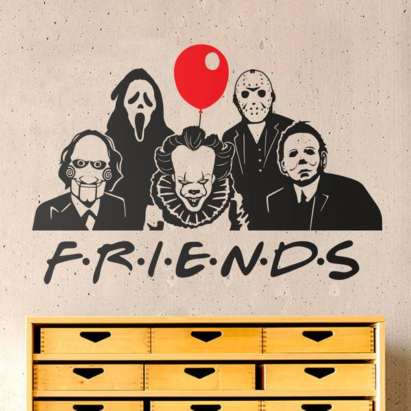 Wall Stickers: Dangerous friends