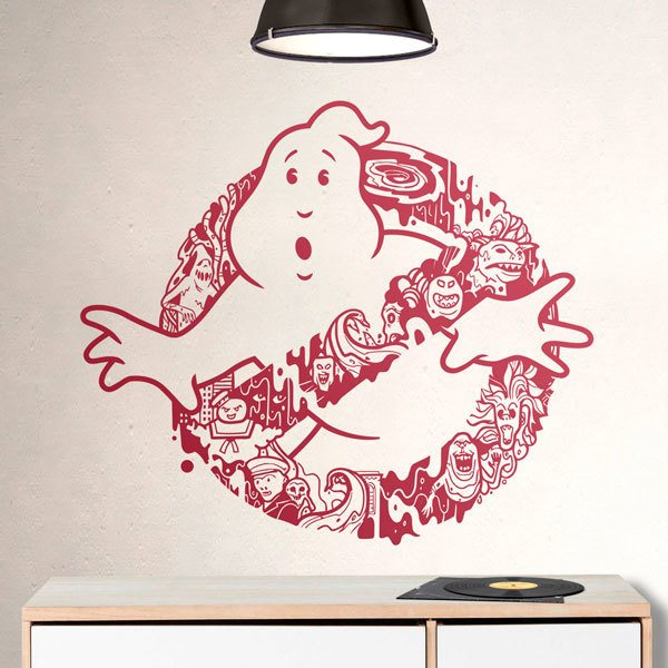Wall Stickers: Ghosts of the Ghostbusters