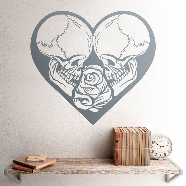 Wall Stickers: In love to the bones