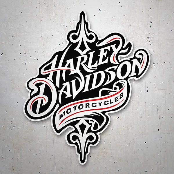Car & Motorbike Stickers: Real Harley Davidson