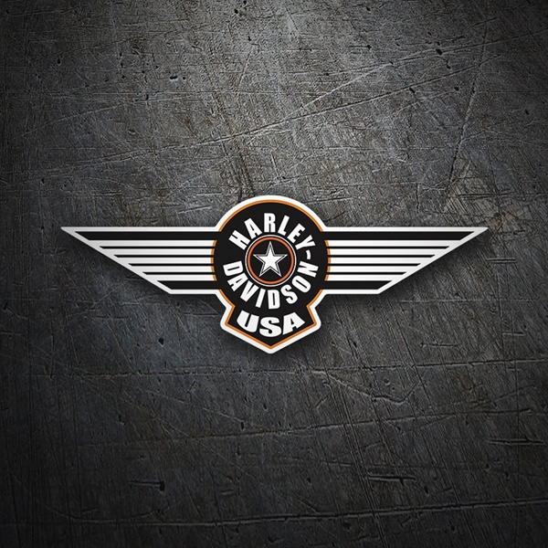 Car & Motorbike Stickers: Harley Davidson USA