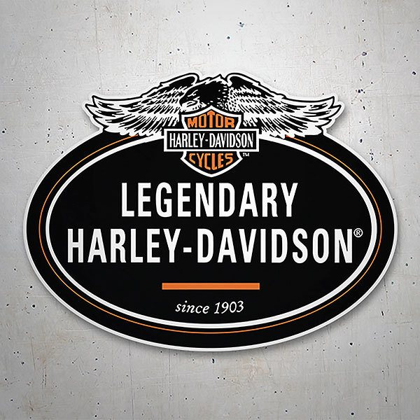 Car & Motorbike Stickers: Legendary Harley Davidson