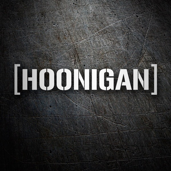 Car & Motorbike Stickers: Hoonigan