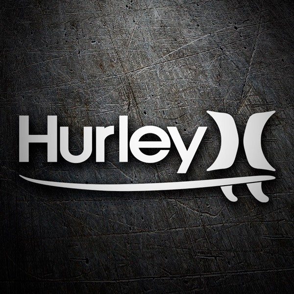 Car & Motorbike Stickers: Hurley 3