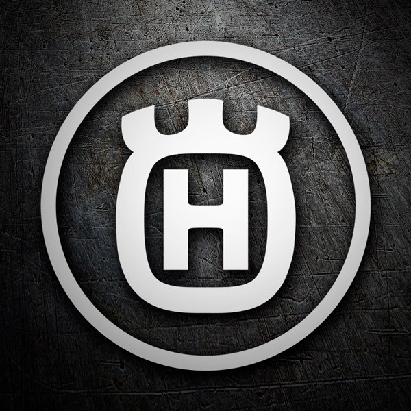 Car & Motorbike Stickers: Husqvarna 4