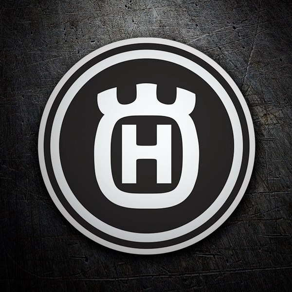 Car & Motorbike Stickers: Husqvarna 6