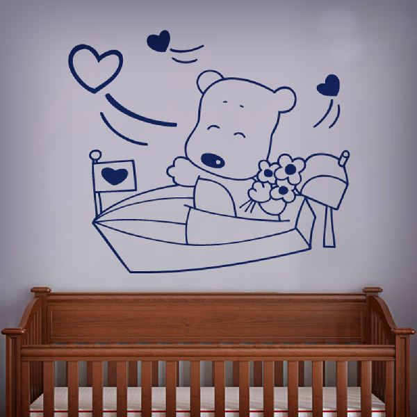 Stickers for Kids: Sailor bear