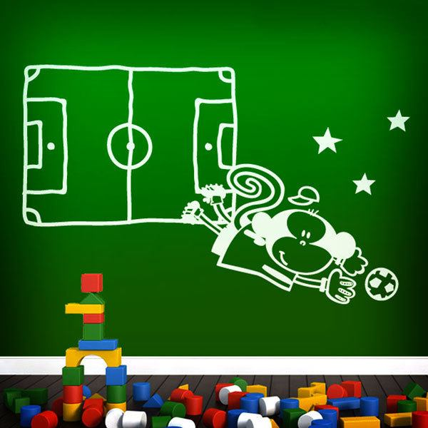 Stickers for Kids: Goalkeeper