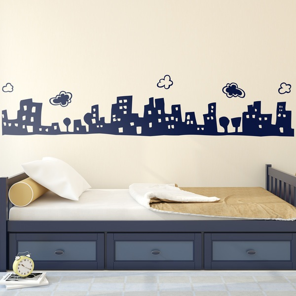 Stickers for Kids: Skyline magical city
