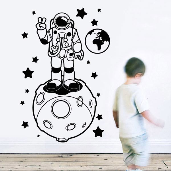 Stickers for Kids: Astronaut