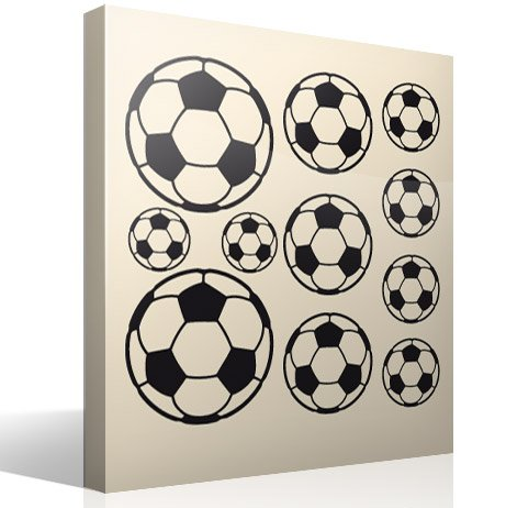 Deco wall stickers soccer ball ref 11085 11085