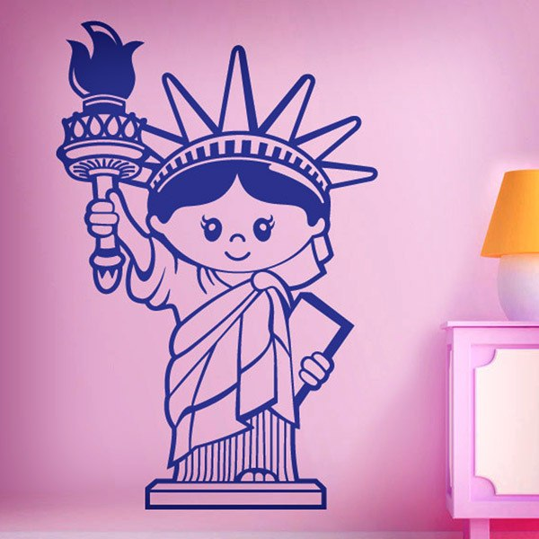 Wall Stickers: Statue of Children's Liberty