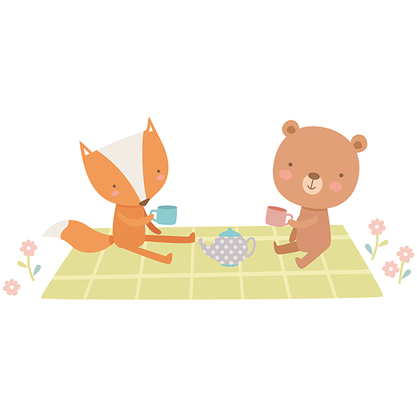 Stickers for Kids: Animal picnic 0