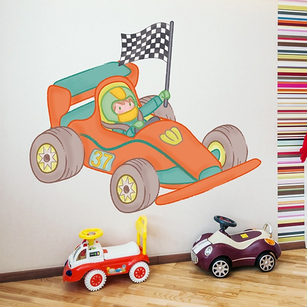Stickers for Kids: Formula 1