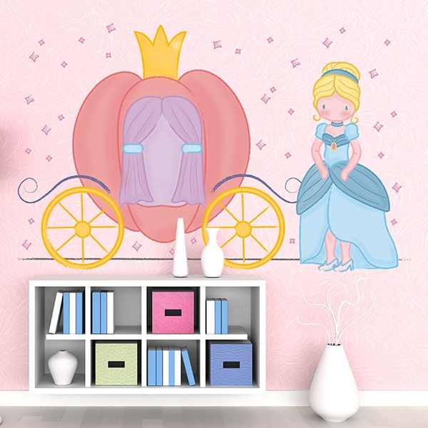 Stickers for Kids: Cinderella