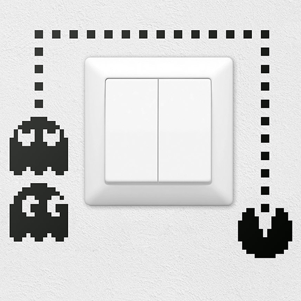 Wall Stickers: Pac-Man Switch