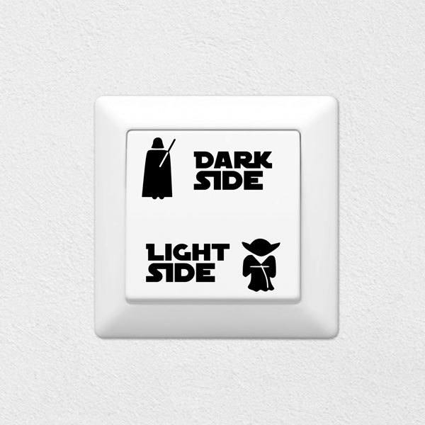 Wall Stickers: Light Side, Dark Side