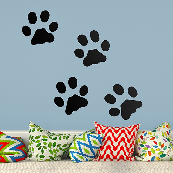 Wall Stickers: Cat footprints