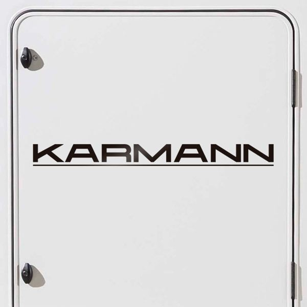Car & Motorbike Stickers: Karmann 1