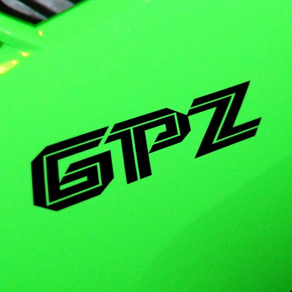 Car & Motorbike Stickers: GPZ
