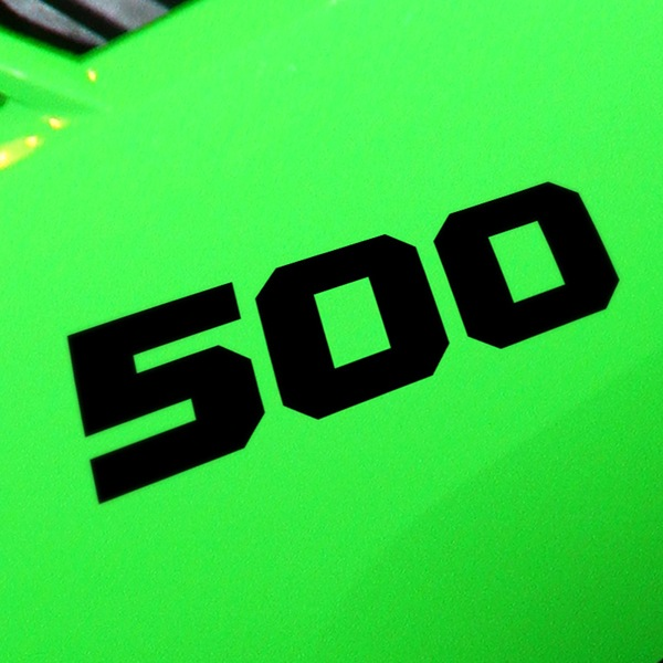 Car & Motorbike Stickers: 500