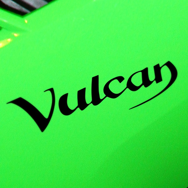 Car and Motorbike Stickers: Vulcan