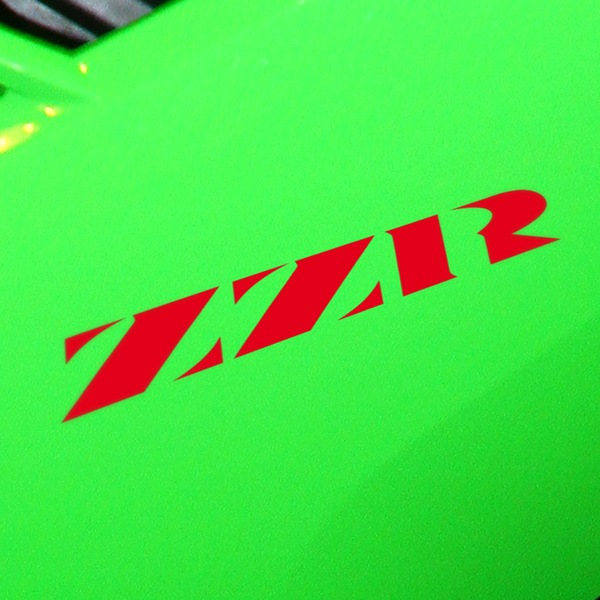 Car & Motorbike Stickers: ZZR1100, ZZR