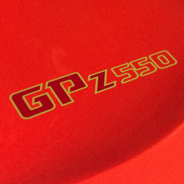 Car and Motorbike Stickers: GPZ550