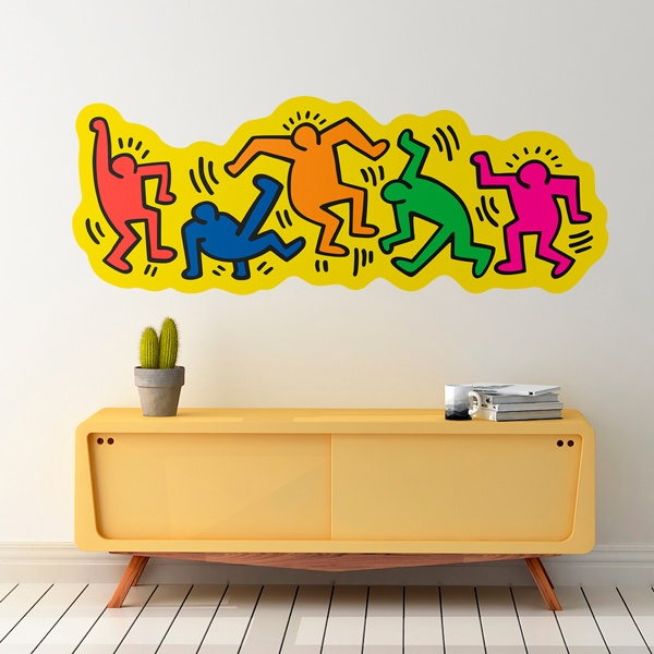 Wall Stickers: Breakdance (Color)