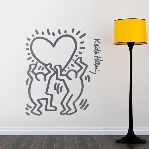 Wall Stickers: Holding a heart