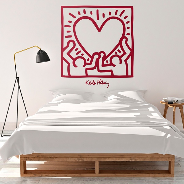 Wall Stickers: Red Heart