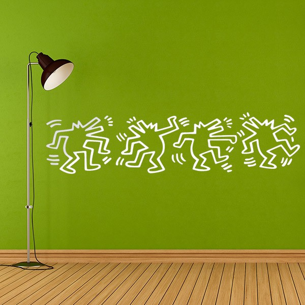 Wall Stickers: Dancing dogs