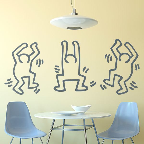 Wall Stickers: Dancing Men