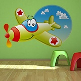 Stickers for Kids: The Funny Plane 5