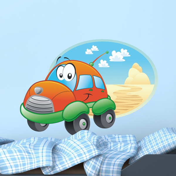 Stickers for Kids: Wheel