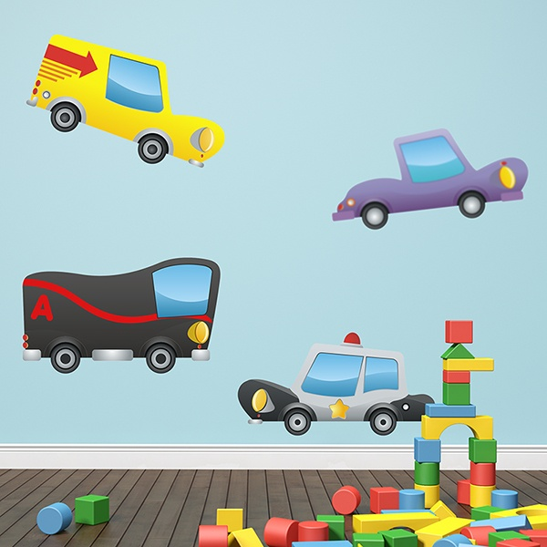 Stickers for Kids: Children's Cars