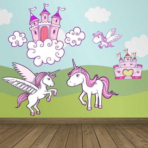 Wall Stickers: Fantasy worldsKit